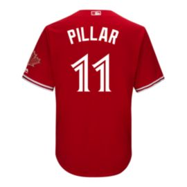 Toronto Blue Jays Kevin Pillar 2017 Alternate Baseball Jersey