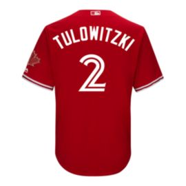 Toronto Blue Jays Troy Tulowitzki 2017 Alternate Baseball Jersey