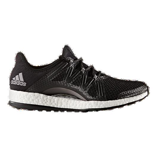 6fa161e37e636 adidas Women s Pure Boost Xpose Running Shoes - Black Silver
