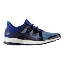 adidas Women's Pure Boost Xpose Running Shoes - Ink Black/Blue
