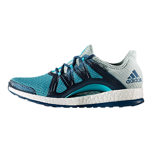 61a15b1c453b9 adidas Women s Pure Boost Xpose Running Shoes - Green Blue. (2). View  Description