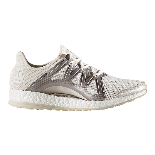 7b557578c96fa adidas Women s Pure Boost Xpose Running Shoes - White Silver