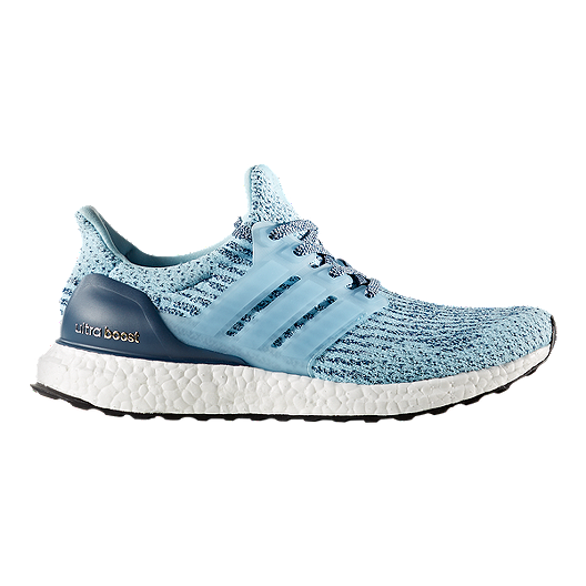 aa60b813f7086 adidas Women s Ultra Boost Running Shoes - Ice Blue Night Blue ...