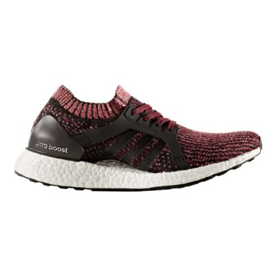 hot sale online c74e6 52384 adidas Womenu0027s Ultra Boost X Running Shoes - BlackRuby Red - CORE