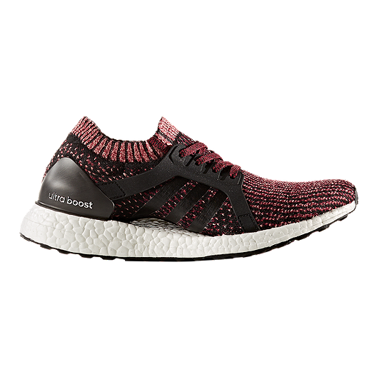 438d22f88 adidas Women s Ultra Boost X Running Shoes - Black Ruby Red