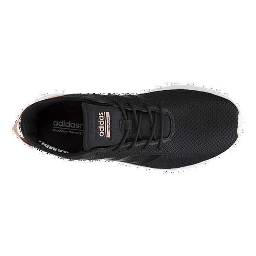 c5f4080b adidas Women's Cloudfoam QT Flex Shoes - Black/Pink   Sport Chek