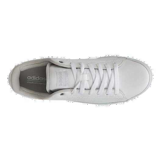 69e8c7a1800f6d adidas Women s Cloudfoam Daily QT Clean Shoes - White Purple Grey ...