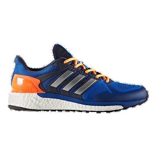 560843993653d adidas Men s Supernova ST Boost Running Shoes - Blue Silver
