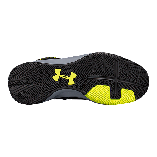 14f153f11f1b Under Armour Men's Rocket 2 Basketball Shoes - Black/Yellow | Sport Chek
