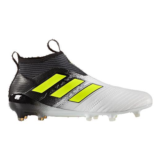 Zapatillas de fútbol Outdoor/ adidas Ace 16737 17+ Pure Control FG Outdoor para hombre Blanco/ Amarillo/ Negro d5d0341 - sulfasalazisalaz.website