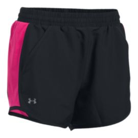 Under Armour Women's Power In Pink Fly-By Running Shorts