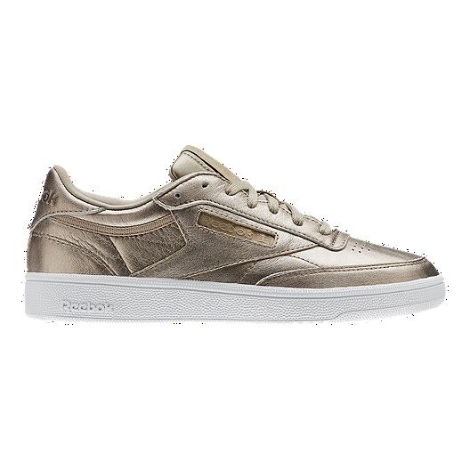 28c4d939368 Reebok Women s Club C 85 Leather Shoes - Pearl Grey White
