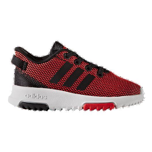 sale retailer 3fe0b b4c10 adidas Toddler Racer TR Shoes - Red Black White   Sport Chek