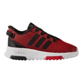 adidas Toddler Racer TR Shoes - Red/Black/White