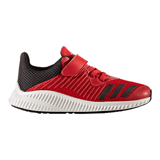 ad174eb64a045e adidas Kids  Fortarun AC Preschool Shoes - Red Black