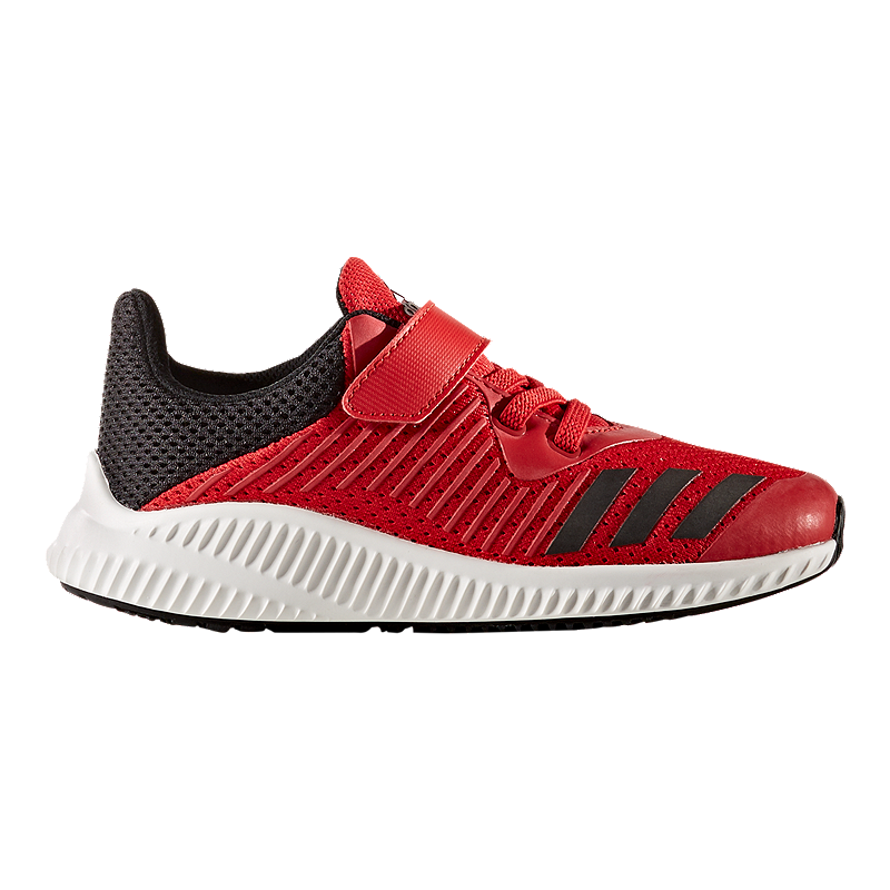 12ef1ceb8aa282 adidas Kids  Fortarun AC Preschool Shoes - Red Black