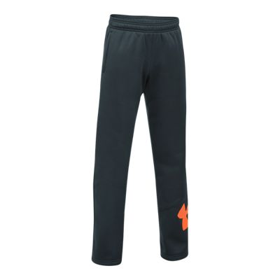 Under Armour Boys' Armour Fleece Big Logo Pants