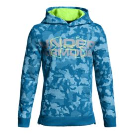 Under Armour Boys' Threadborne™ Nov Logo Hoodie