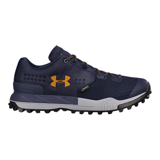 promo code 2cb62 33dc3 Under Armour Men s Newell Ridge Low GORE-TEX Hiking Shoes - Navy Steel    Sport Chek