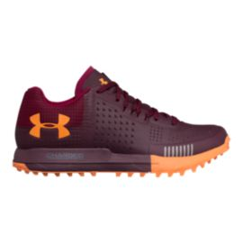 Under Armour Women's Horizon RTT Trail Running Shoes - Red/Black Currant