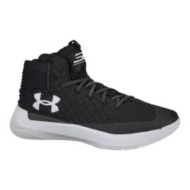 Under Armour Men's Curry 3Zero Basketball Shoes - Black/White