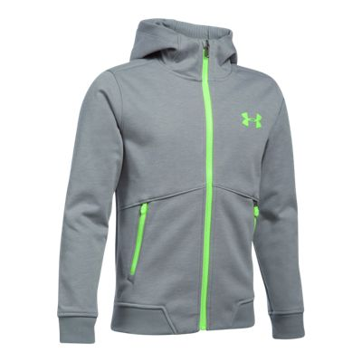 Under Armour Boys' Storm Dobson Softshell Hooded Full Zip Jacket