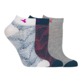 Diadora Women's Libra No Show Socks 3 - Pack