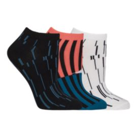 Diadora Women's Alba No Show Socks 3 - Pack