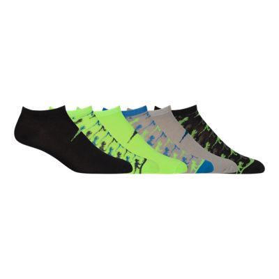 Diadora Boys' Dino Low Cut Socks 6 - Pack