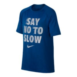 Nike Dry Boys' Say No To Slow Legend T Shirt