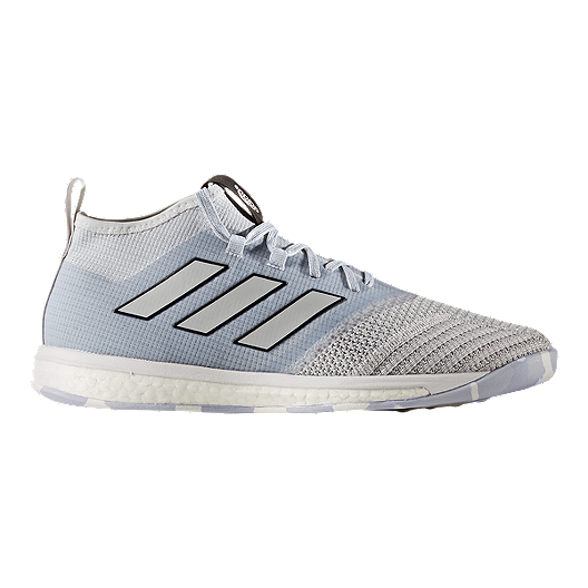 aa2ab39cd759 adidas Men s Ace Tango 17.1 TR Boost Indoor Soccer Shoes - Clear Grey