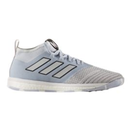 adidas Men's Ace Tango 17.1 TR Boost Indoor Soccer Shoes - Clear Grey