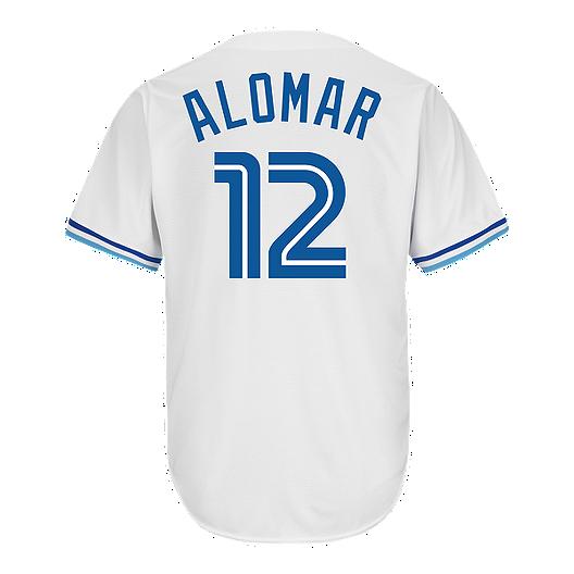 new product 0d692 06cb9 Toronto Blue Jays Cooperstown Roberto Alomar Baseball Jersey