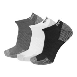 New Balance Men's Performance No Show Socks - 3-Pack