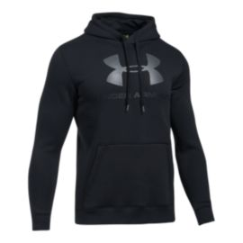 Under Armour Men's Rival Fleece Fitted Graphic Hoodie