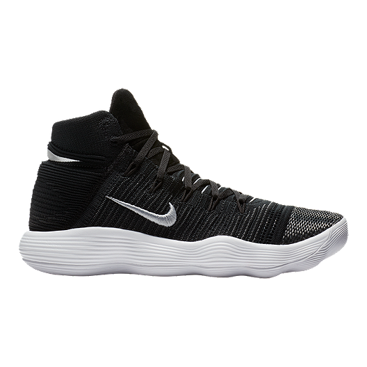 6075ef02188 Nike Men s Hyperdunk 2017 Flyknit Basketball Shoes - Black White ...