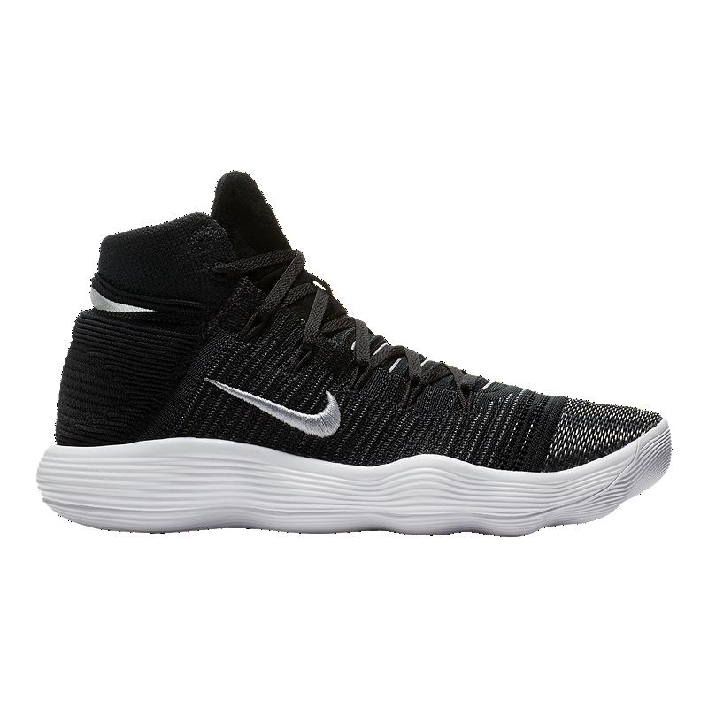 the best attitude e2b37 0c979 Nike Men s Hyperdunk 2017 Flyknit Basketball Shoes - Black White   Sport  Chek
