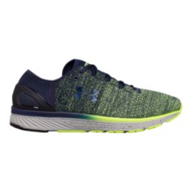 Under Armour Men's Charged Bandit 3 Running Shoes - Knit Green/Blue
