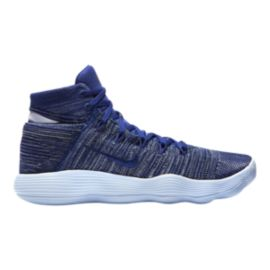 Nike Men's Hyperdunk 2017 Flyknit Basketball Shoes - Navy/Blue