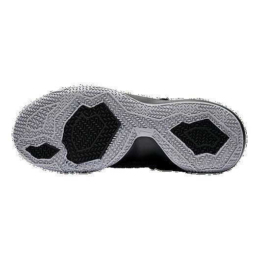 8b20acb7f3bb Nike Women s Zoom Shift Basketball Shoes - Black Grey