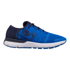 Under Armour Men's SpeedForm® Gemini 3 Graphic Running Shoes - Navy/Blue