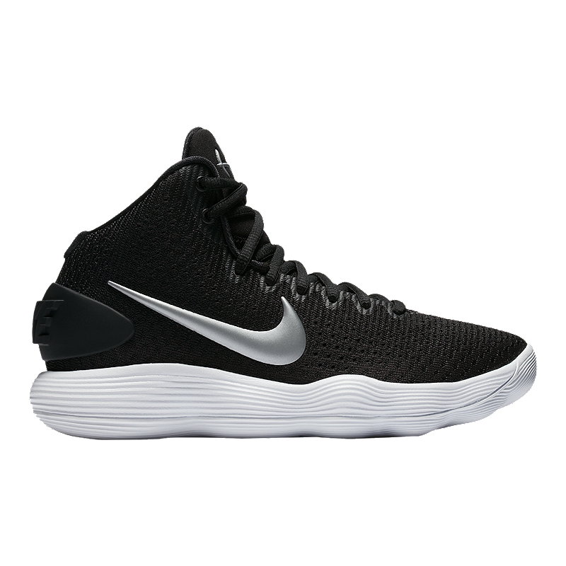d9e50dbc40d7 Nike Women s Hyperdunk 2017 TB Basketball Shoes - Black Silver ...