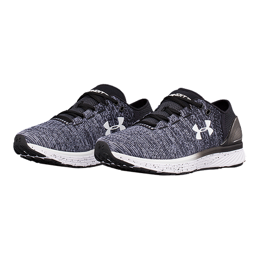 premium selection f77c6 614e8 Under Armour Women's Charged Bandit 3 Running Shoes - Black/White