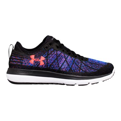 Under Armour Women's SpeedForm® Fortis 3 Running Shoes - Black/Blue