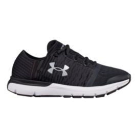 Under Armour Women's SpeedForm® Gemini 3 Graphic Running Shoes - Grey/Black