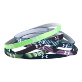 Under Armour Girls' Mini Graphic Headbands 6 - Pack