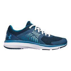c613e3cf34a20f image of Under Armour Women s Micro G Press TR Training Shoes - Black Blue  with