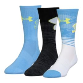 Under Armour Men's Curry Phenom Crew Socks 3 - Pack