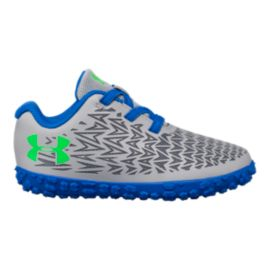 The Under Armour Toddler Road Hugger Shoes - Grey/Blue