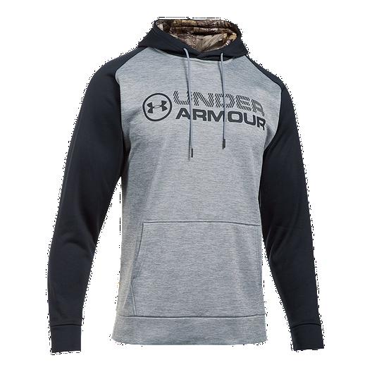 6aafaa07 Under Armour Men's Armour® Fleece Stacked Hoodie